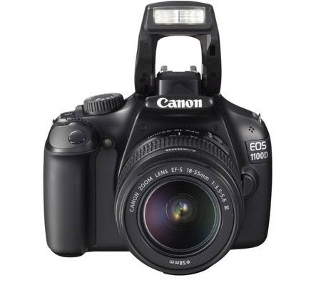 voici mon appareil photo 1100D de Canon