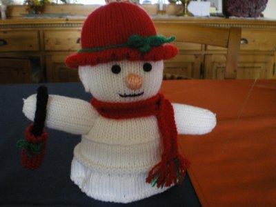 madame bonhomme de neige