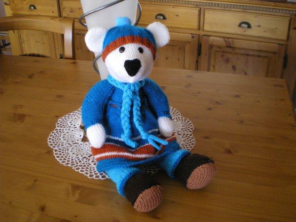 ours robe bleu
