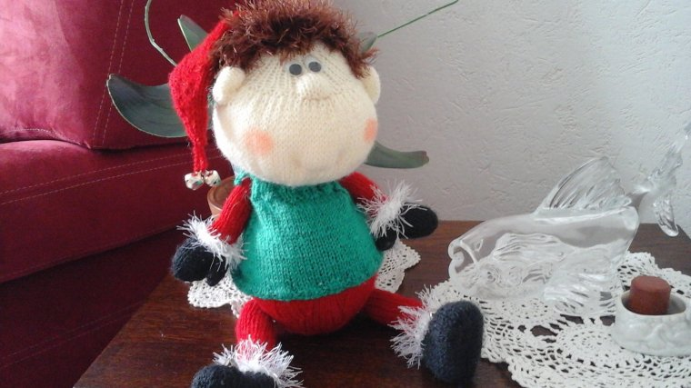 elfe au tricot