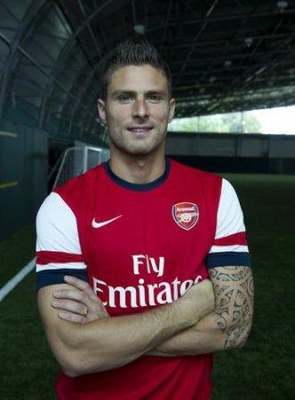 Olivier Giroud, le nouveau gunner !