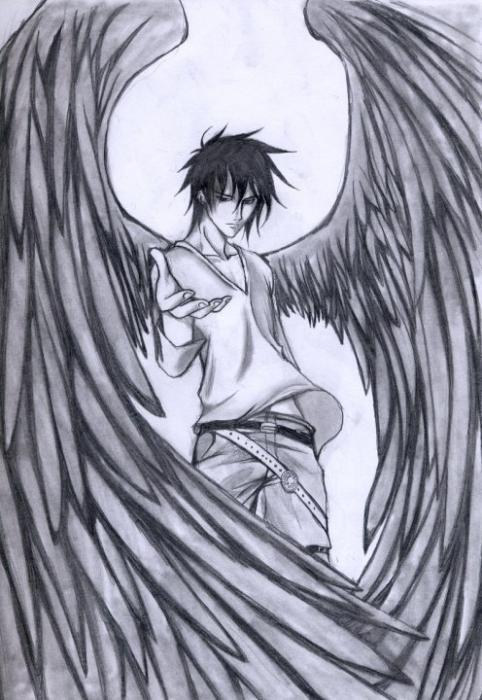 Texte # L'Ange noir