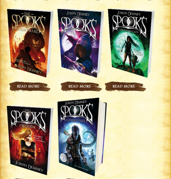 The Spooks Books