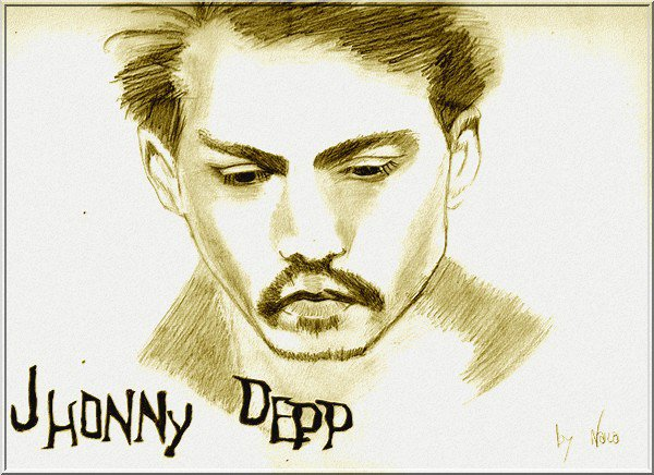 Blog de nara dessin nara nara - Dessin johnny depp ...