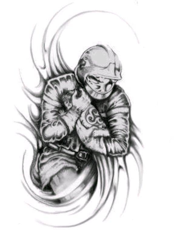 Futur tatouage dans le bas de la nuque
