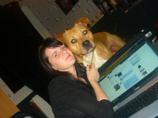 ma femme et mon chien
