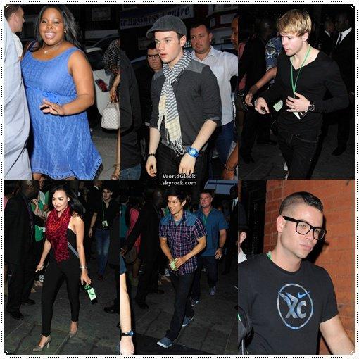 """Le 27juin 2011 le cast au show-case de Beyoncé / Le 29juin 2011, Kevin, Amber, Jenna & Heather à la discothéque de Mahiki / Deux nouveaux stills de Cory pour """"Monte Carlo""""."""