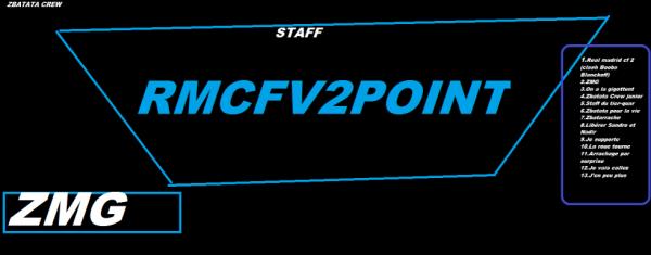 AFFICHE RMCFV2POINT STAFF