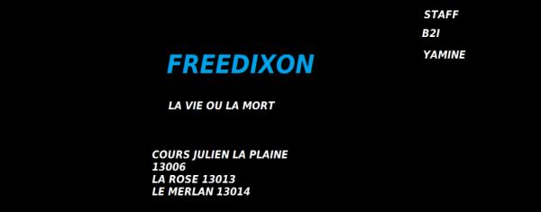 affiche freedixon