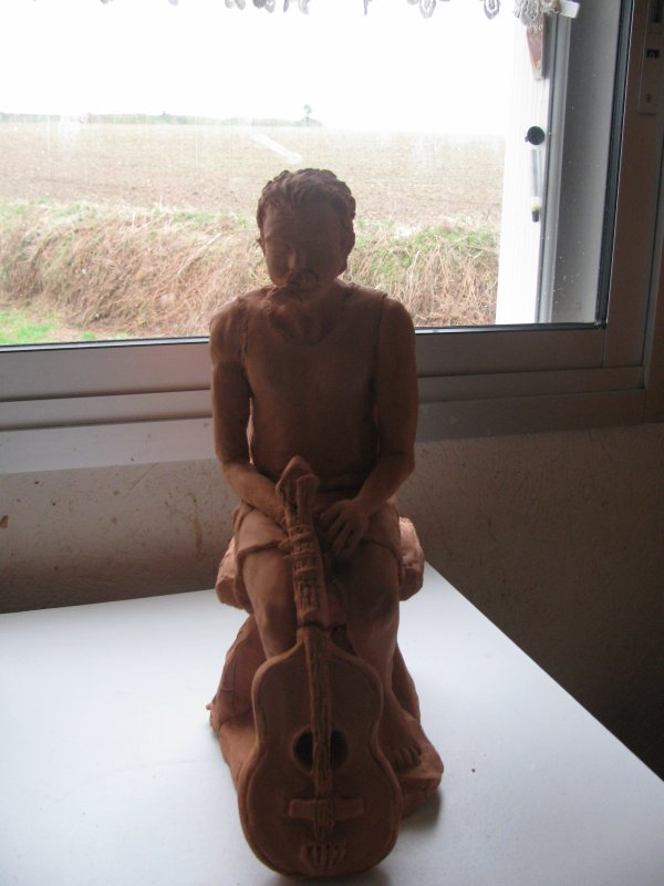 mes sculptures terminées