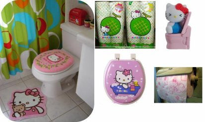 Hello kitty wc