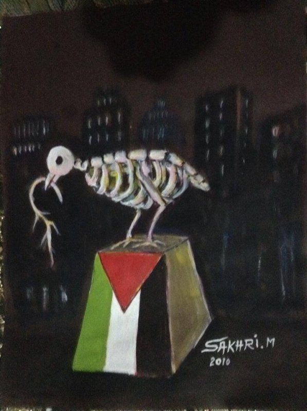 ce qui reste de la colombe palestinienne