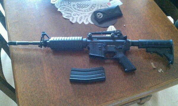 mon fusil airsoft