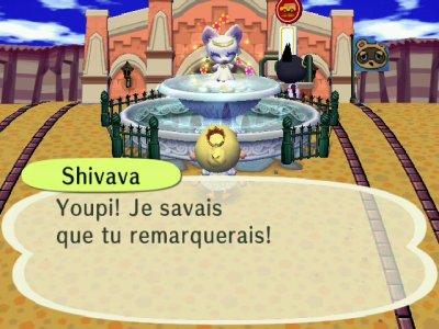 La fée de la fontaine !