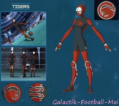Articles de galactik football mei tagg s les tigres - Galactik football personnage ...