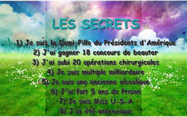 Les Secret de la maison Fille