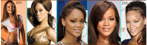 Côté style , Rihanna ne sait pas ce qu'elle veut !
