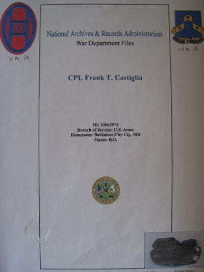 Frank T. CASTIGLIA