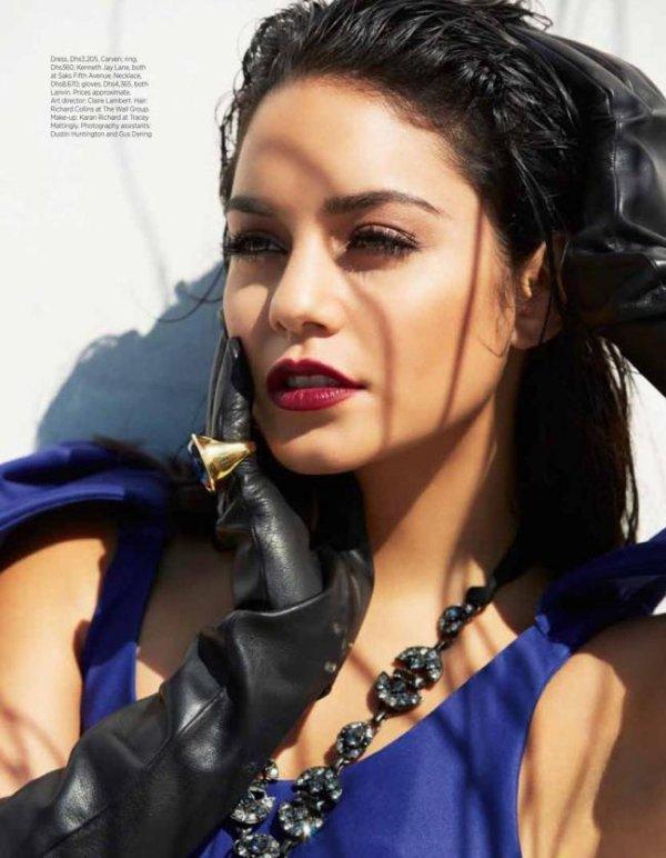 Vanessa Hudgens trop sexy pour la une du magazine Harper's Bazaar! :D