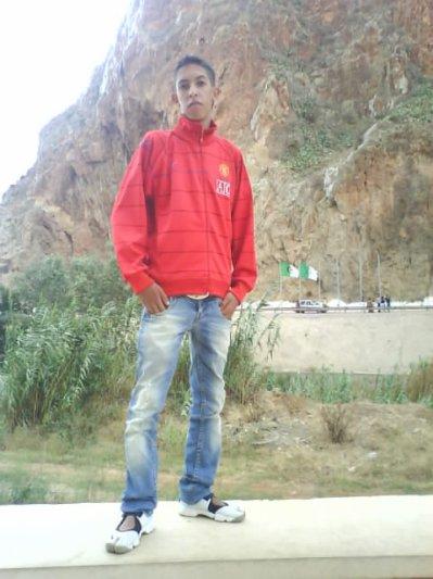 I sur la frontière de l'Algérie