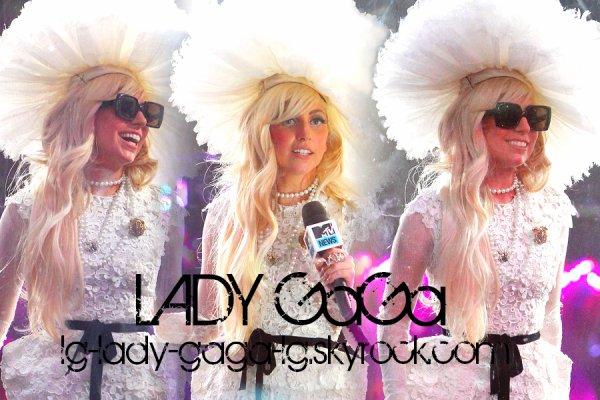 Lady GaGa pour les MTV VMA !