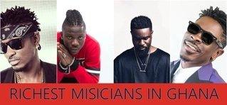 Top 10 richest musicians in Ghana 2018