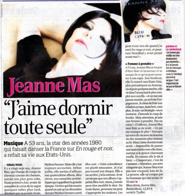 ARTICLE FRANCE SOIR