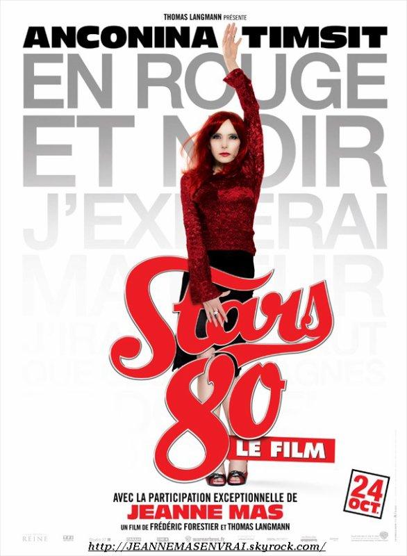 """Le 24/10/2012 :  SORTIE CINEMA de """"STARS 80"""" !"""