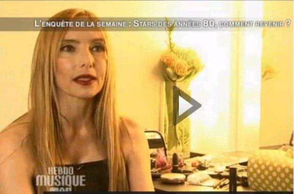 """NEWS TV : JEANNE MAS dans l' """"Hebdo musique mag """" de FRANCE 2 !"""