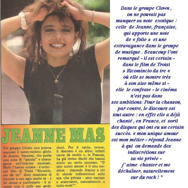 Les 30 ANS de carrière de JEANNE MAS - JOUR J - 1 AN !
