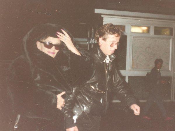 Arrivée au PALAIS DES SPORTS de Paris,  Le 20 octobre 1986 !