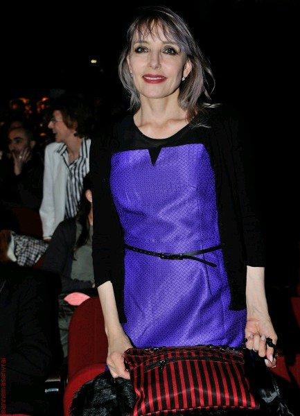 NEWS PHOTOS : Jeanne Mas,  présente à l'Olympia pour une cérémonie !