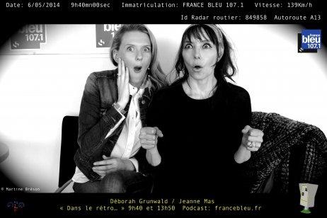 """PROMO du nouvel album """"H2-EAU"""" - Episode 6 - JEANNE MAS sur FRANCE BLEU - """"DANS LE RETRO """""""