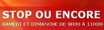 """JEANNE MAS en compétition sur RTL pour le  """"STOP ou ENCORE """" du  - Dimanche 03 août 2014 (Réactualisation)"""