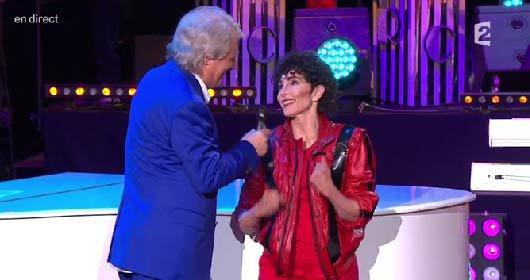 NEWS TV - JEANNE MAS était   l'invitée de   Patrick Sébastien ce Vendredi sur France 2