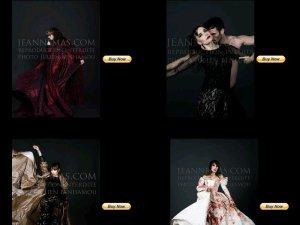 NEWS WEB : 4 photos inédites de JEANNE en vente au profit d'une association   (Réactualisation)
