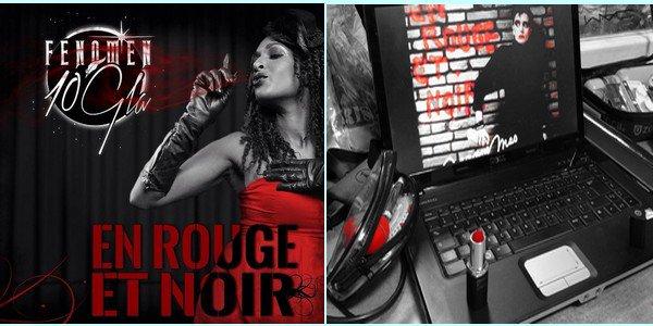 """"""" EN ROUGE ET NOIR """" en mode ... reprise ! - Une jeune chanteuse reprend le tube de JEANNE... - Dans le clip, une photo de Jeanne  Dans le texte , son nom..."""