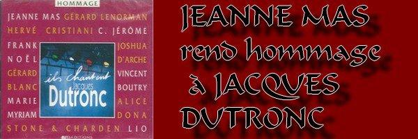 En 1998, JEANNE reprend  Jacques Dutronc, Julien Clerc, Souchon, Berger...  Ecoutez !