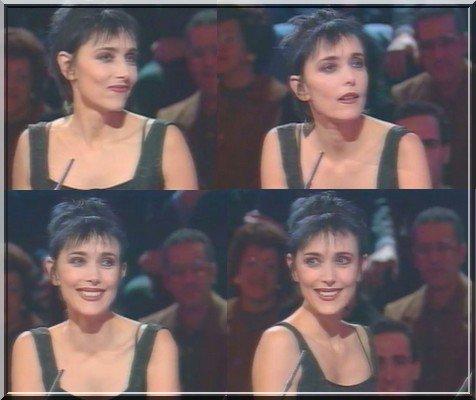 """Le passage TV inédit de la semaine ! - JEANNE MAS - Invitée de  """"Sans aucun doute """" (TF1 - 1999)"""