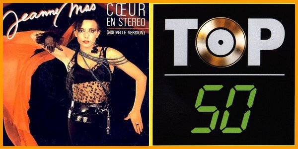 """Dossier spécial """"COEUR EN STEREO"""" - il  y 10 ans, ce titre - dans une nouvelle version -   faisait son entrée au """"TOP 50"""""""
