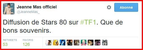 "NEWS TV - Info : DIFFUSION en clair du FILM ""STARS 80"" à la TV  !"