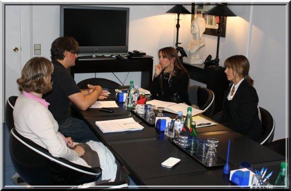 JEANNE MAS  à la Fondation Brigitte Bardot