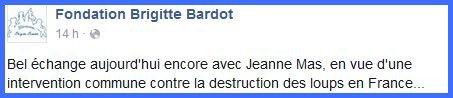 JEANNE de nouveau à la Fondation Brigitte Bardot !