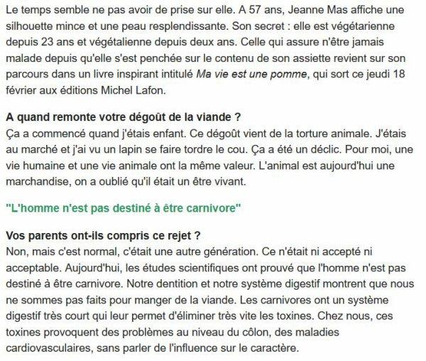 JEANNE MAS en interview dans METRONEWS (18/02/16)