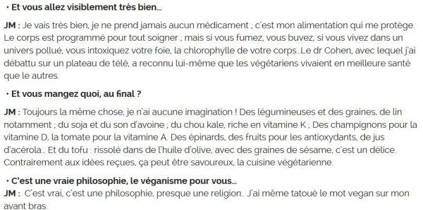 """NEWS WEB : INTERVIEW INEDITE de JEANNE MAS sur """"Femmesactuelles.fr"""""""