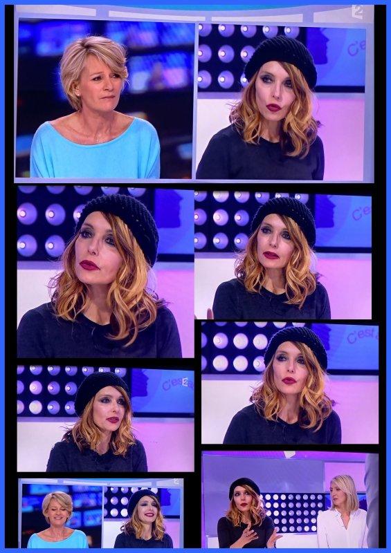 """NEWS TV : JEANNE MAS était ce matin l'invitée de Sophie Davant dans """"C'est au programme"""" (France 2)"""
