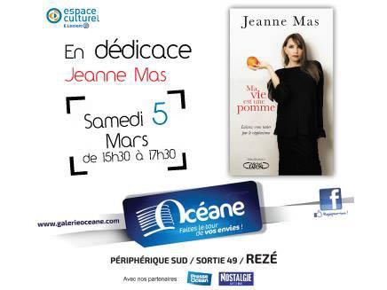 """Ce samedi 5 mars près de Nantes, toute première dédicace du livre """"Ma vie est une pomme"""" !"""