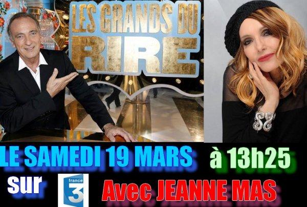 NEWS TV : JEANNE sur FRANCE 3 bientôt !