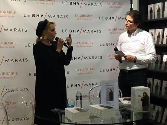 """RDV : JEANNE dédicacera """"Ma vie est une pomme """" à partir de 16h00 ce samedi 12 mars  à PARIS !"""