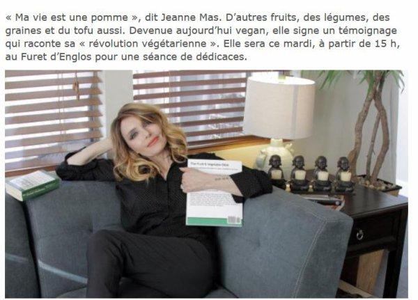 """NEWS PRESSE : Avant sa dédicace ce mardi 15 mars à Englos (près de Lille) , JEANNE accorde une interview au journal """"La Voix du Nord"""" !"""